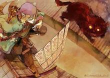 Medicine Seller VS Mononoke