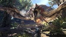 The environments are fierce in Monster Hunter World