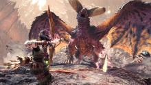 The bow is one of the best weapons since you can just keep hammering away at a monster's weakspot. In this case, Nerg will almost always have a weakened spot because of this.