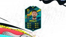 This Spanish star is another player on this list that has an upgraded card that you can buy to improve your team.