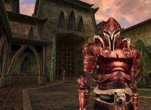 A royal temple guard from Morrowind's 'Tribunal' DLC