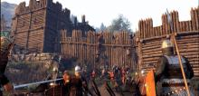 Experience a realistic castle siege with various weapons.