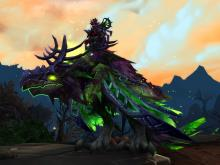 World of Warcraft Reins of the Corrupted Dreadwing