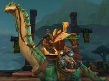 If you can afford this mount, it shows that you have gold and status!