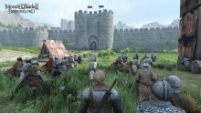 Mount and Blade: Bannerlord has epic clashes between huge armies.