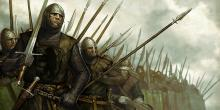Build up an epic army in Mount and Blade.