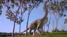 Palentologists are amazed to be in the presence of a long extinct giant.