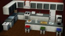 This kitchen is nicer than my kitchen