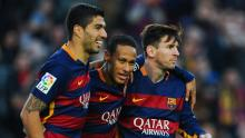 Messi, Suarez and Neymar combined to form a deadly trio.