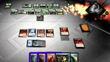 A sleek 3D board and spell effects make Duels a spectacle to behold.