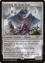 This version of Emrakul was printed as a Pro Tour Promo