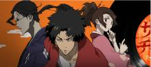 From left, Jin, Mugen, and Fuu from Samurai Champloo