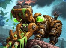 This mech's cost is reduced for every treant that has died