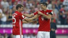 Bayern Munich have no trouble scoring goals with these two.
