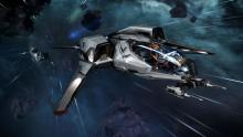 The best all around starter ship, the Mustang Alpha.