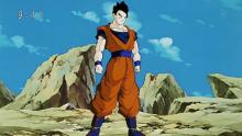 Once his hidden abilities are fully unlocked by the Old Kai, Gohan swiftly travels to Earth in a gi just like his dad's in order to defeat Majin Buu. One could even say that, at this point, he's the second-coming of Goku! (Even Piccolo thought he was Goku when looking at him from a distance.)