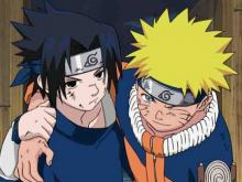 Naruto and Sasuke have a friendly rivalry throught the seasons.