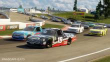 You can race on tracks like the road course in Canada in your career!