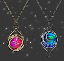 Magical pendants keep your hands free while providing you with a number of benefits.
