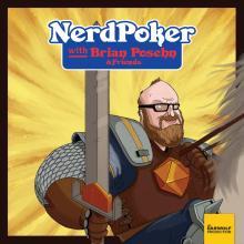 Nerd Poker's Brian Posehn, an illustration