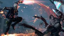 Watch Nero slay demons with powered Red Queen