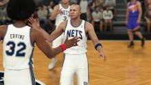 Only in 2K18 can you see Jason Kidd and Dr. J on the same team.