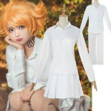 Emma from The Promised Neverland cosplay, featuring the outfit. (source: Ebay)