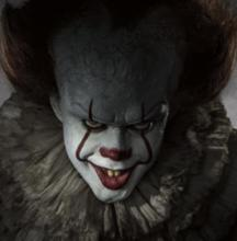 See Bill Skarsgard as Pennywise in It (2017)
