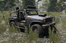 4x4 truck, room for 2, multi-use vehicle.