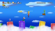 Four Player Multiplayer in New Super Mario Bros. Wii.