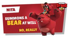 Summon him and he shall obey! Nita's bear is the best companion.
