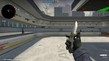 Trippy motion matching a great looking knife!