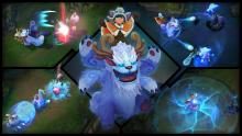 All of Nunu and Willump's skills are displayed here.