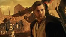 Jedi Master Obi-Wan Kenobi joins the battle