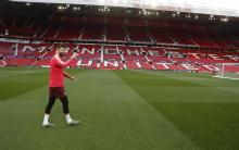 Gerard Pique revisits his former home, Old Trafford is world famous for its outstanding atmosphere.