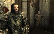 Nord hero in armor.