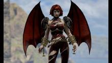 A lovely but dangerous looking original character in Soul Calibur VI.