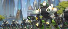 A group of OR15 units, the model that Orisa was created from.
