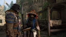 An Orochi and Nobushi from the story mode talk battle strategy