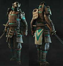 Legendary-grade gear for the Orochi unlocked at high Reputation