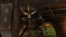 An Orochi sporting one of the many wearable helmet ornaments