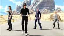 Improve the outfit textures in FFXV.