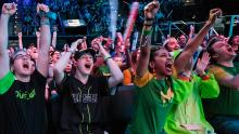 Houston Outlaws garnering a scream