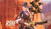 The introduction to the Leader of the Deadlock Rebels: Ashe.