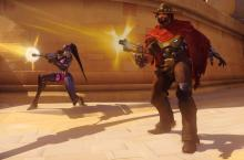 McCree will give you a very difficult time with his sharpshooting headshots. Use shield characters to make him less effective.