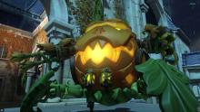 The pumpkin carriage we all want to ride in.