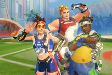 The first three event skins for Overwatch.