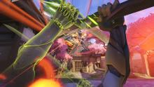High ping will likely mess up your timing, and in Overwatch, timing is key.