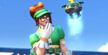 Mei's Honeydew skin is another brand new skin that just came out during the Anniversary event this year.