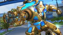 Based on another Blizzard game, Starcraft, Orisa's Immortal skin is definitely an epic one.
